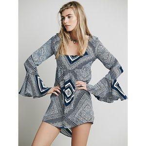 Stone Cold Fox Farrah Dress Alva Print